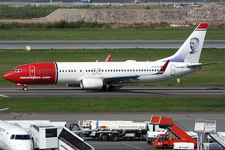 Norwegian (Anders Zorn livery), LN-NGH, Boeing 737-8JP | by Anna Zvereva
