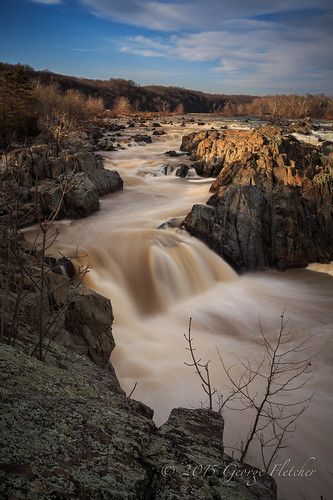 longexposure clouds virginia waterfall rocks unitedstates greatfalls mclean rushing