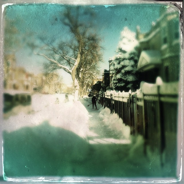 #TinType #Hipstamatic #Chicago #Chiberia #Chicagoblizzard2015 #Crane's_Chicago #wu_chicago Digging out. #Hipstafiend #Hipstography #HipstaRoll #Hipsta_Junky #Hipsta_crazy #TheAppWhisperer #Combo_Apps #Mobiography #AMPTcommunity