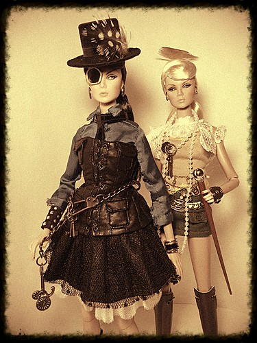 Steam Punk Lilith & Eden | by oasis2609