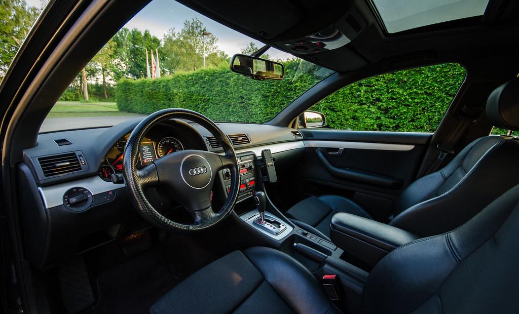 Audi A4 Innenraum Matthias Geier Flickr