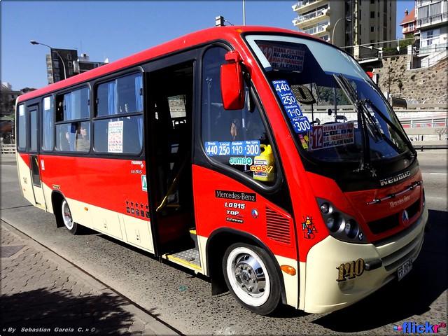 → 6 Gran Valparaiso || Linea 612