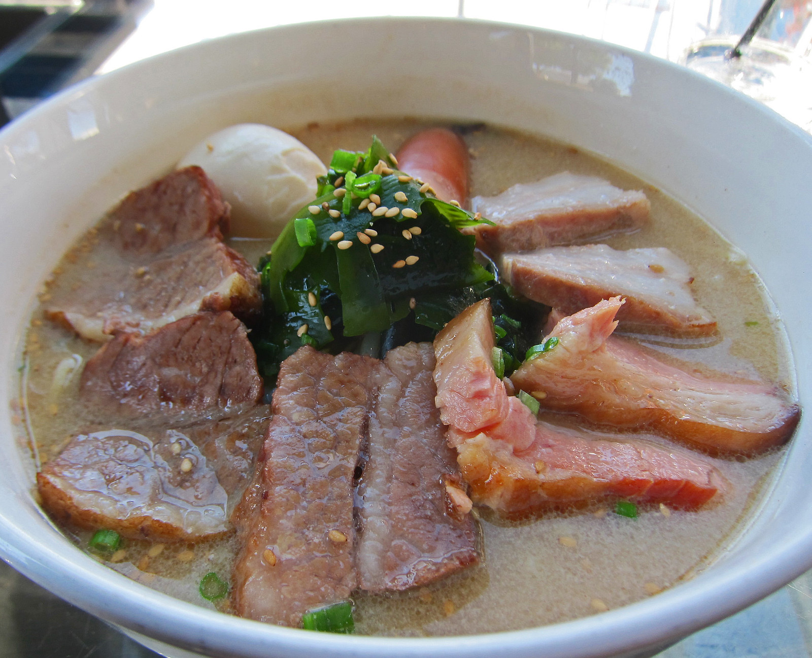 Underbelly Ramen with Beef Brisket - Underbelly