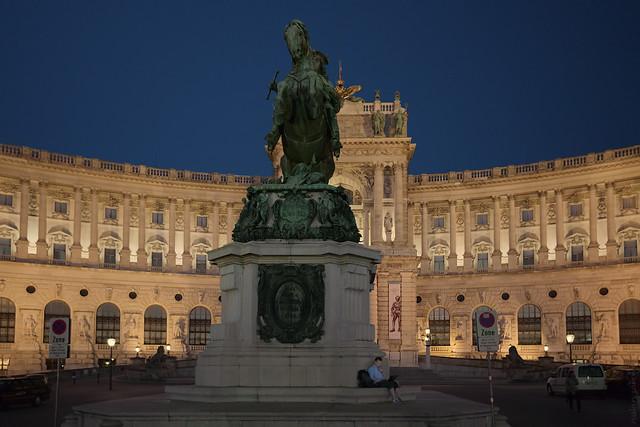 RUS04277(Heldenplatz, Prinz Eugen von Savoyen)
