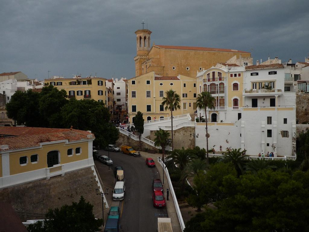 Menorca 9 13 Maó Iglesia De Santa Maria Pescaderia Y Ca Flickr