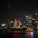 Shanghai at night, Huangpu River