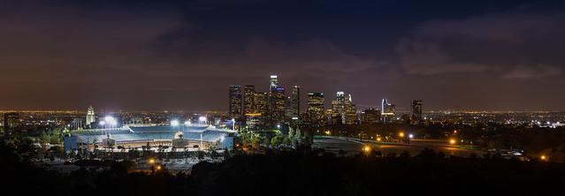 Downtown LA Panorama