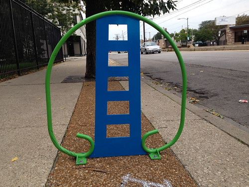 South Shore bike rack | by reallyboring