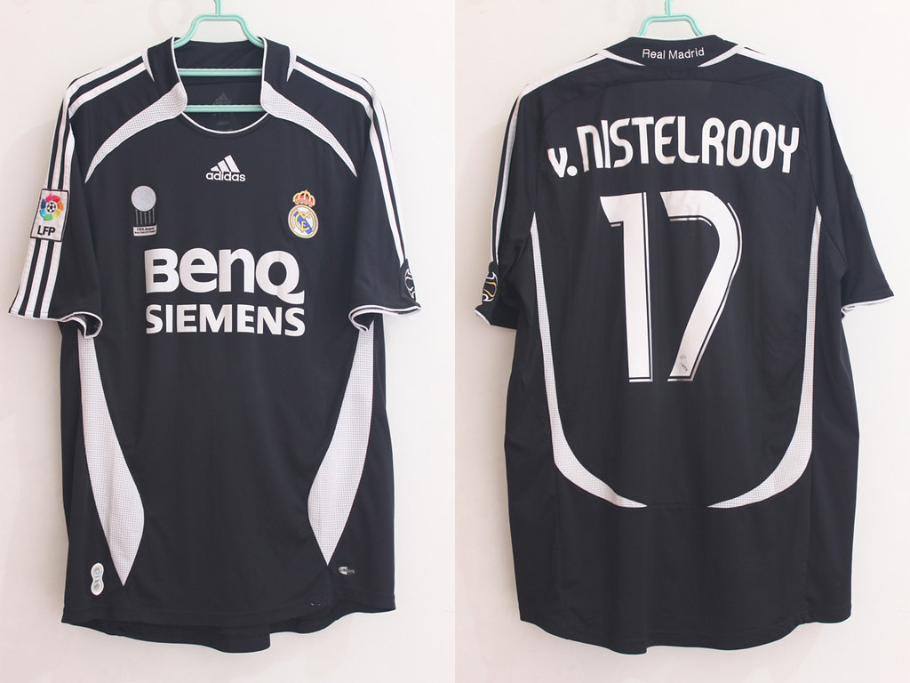 factory authentic a5eb8 e01a9 Real Madrid Away 06/07 LFP #17 v. NISTELROOY | Andre ...