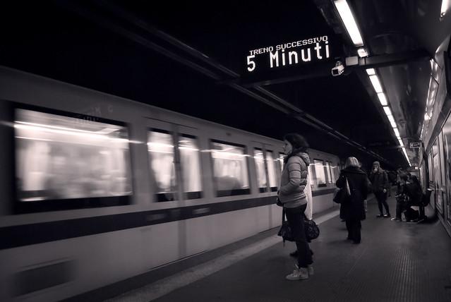 Rome - underground