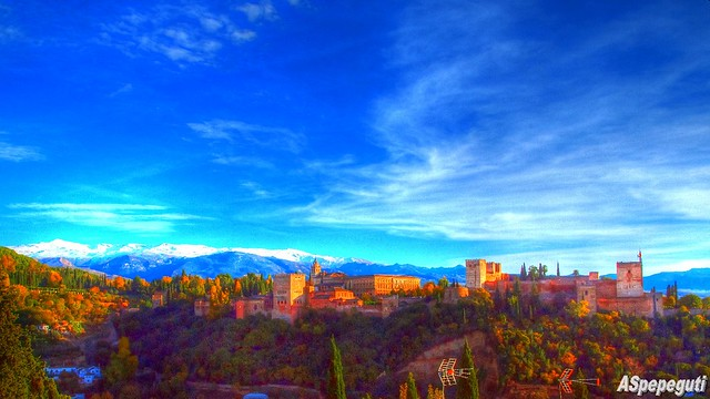 Alhambra de Granada desde San Nicolas