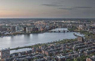 Boston skyline from the Prudential Skywalk - HDR - 2014-05-10 - [Explored] | by BillDamon