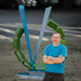 Art Faculty and Art Student Install Public Art at CU ICAR