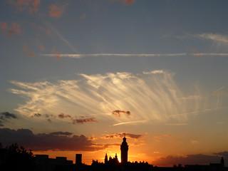 Sonnenuntergang in Leipzig   by PercyGermany