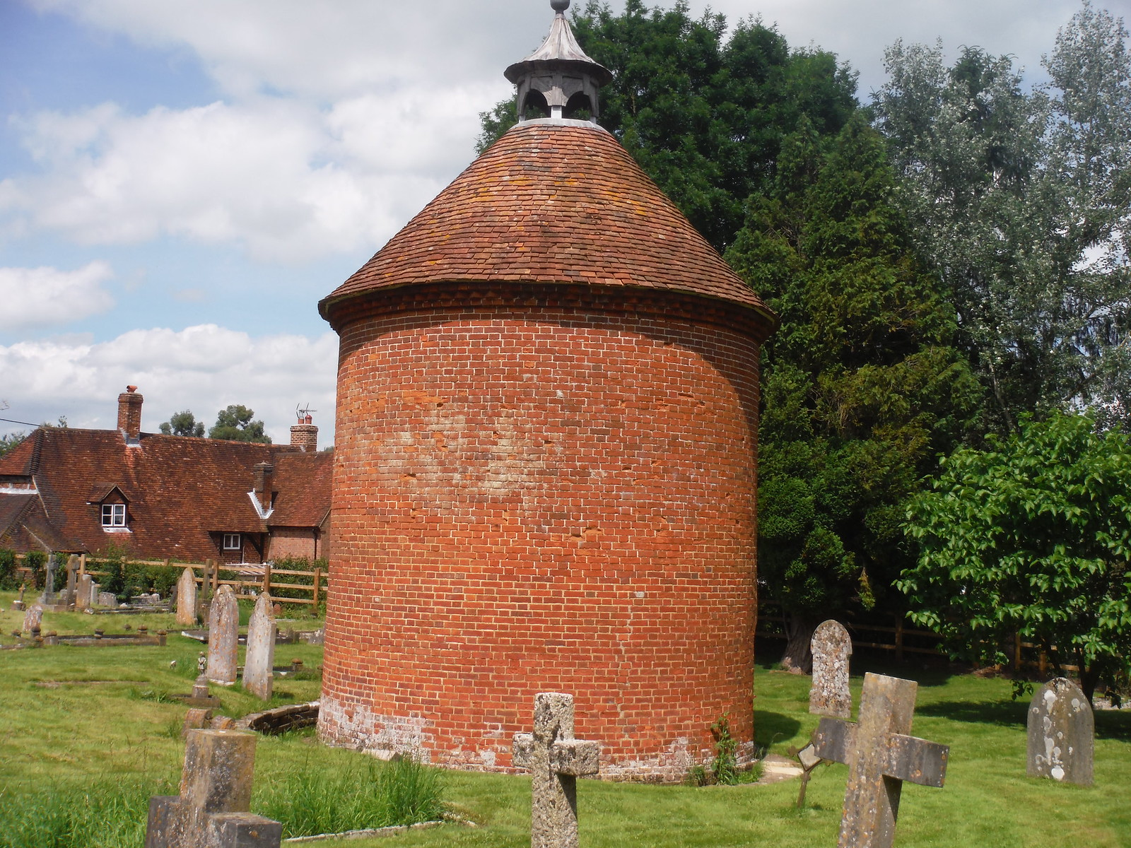Columbarium, St. Mary's, Broughton SWC Walk 265 - Dean to Mottisfont & Dunbridge