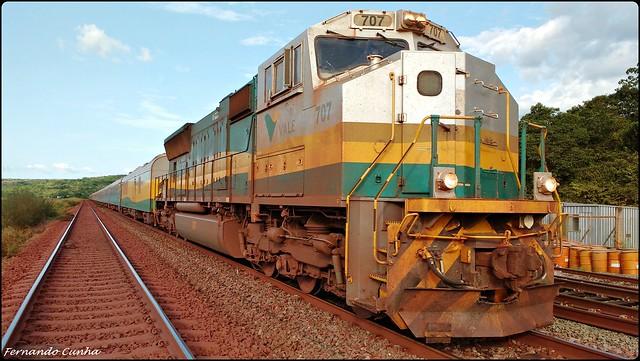 Trem de Passageiros da Estrada de Ferro Carajás - Brasil.