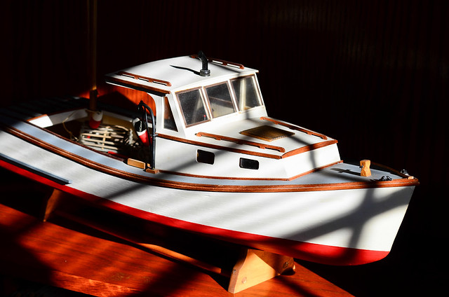 lobster boat repaired