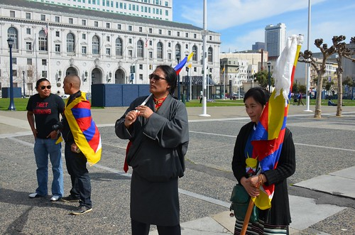 Free Tibet rally at San Francisco City Hall | by Steve Rhodes