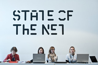 Reception+smiles   by State of the Net