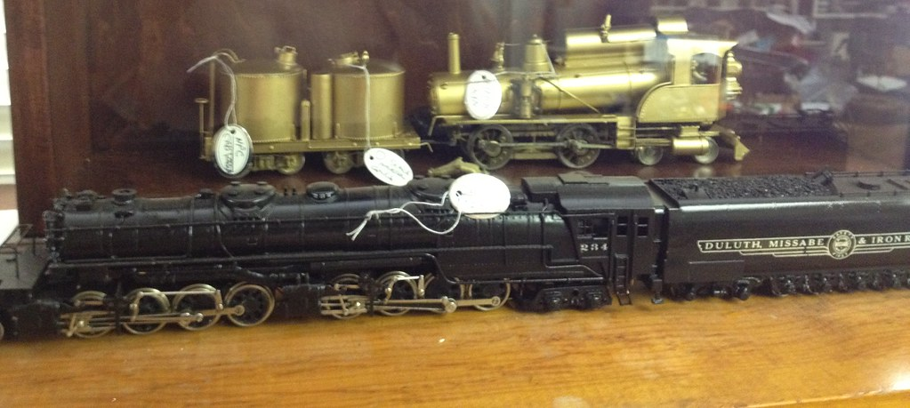 Part of My HO Scale Brass Steam Locomotive Model Collectio