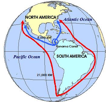 World History Map-Panama Canal | Mrunal org | Flickr