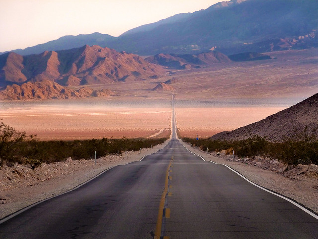Death Valley Road 127 - Mojave Desert, California