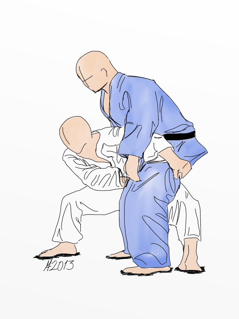 Terms Of Use >> Sukui-nage | Free to use judo technique illustration license… | Flickr
