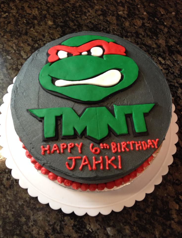 Teenage Mutant Ninja Turtles Cake By Amanda Raleigh Durham NC Birthdaycakes4free