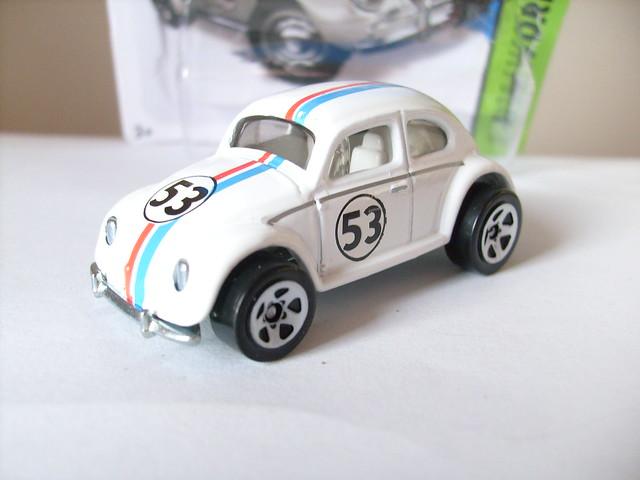 HOT WHEELS VW BEETLE HERBIE THE LOVE BUG 1/64