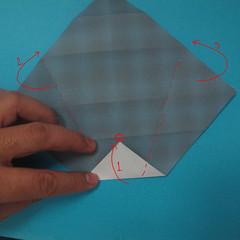 วิธีการพับกระดาษเป็นรูปนกเค้าแมว 008