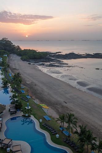 ocean trip vacation water sunrise hotel canal paradise resort tropical panama lush tropics westin panamacity soar centralamerica panamacanal silpada laplayabonita