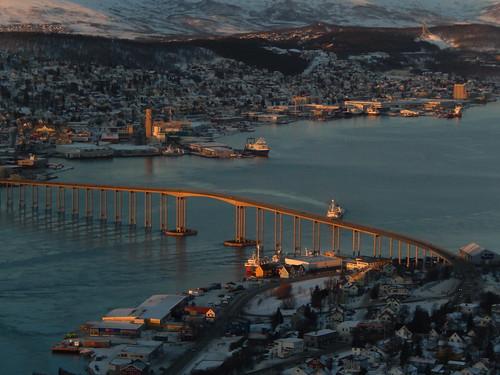 14 - Tromso - vanuit kabelbaan