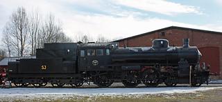 Swedish Railways Locomotive - 1135 B  built 1912