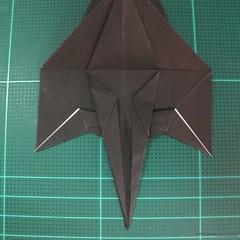 วิธีการพับกระดาษเป็นรูปจิงโจ้ (Origami Kangaroo) 011