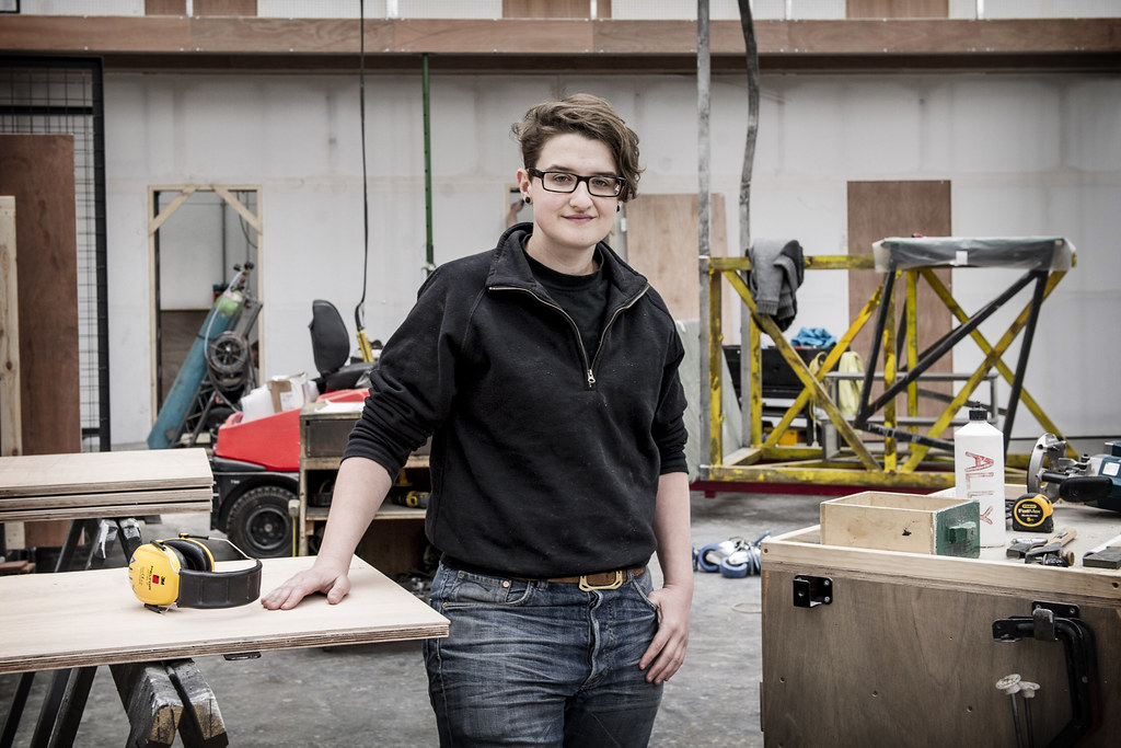 Ally Friedman, Scenic Carpentry Apprentice © Sim Cannetty-Clarke/ROH 2014