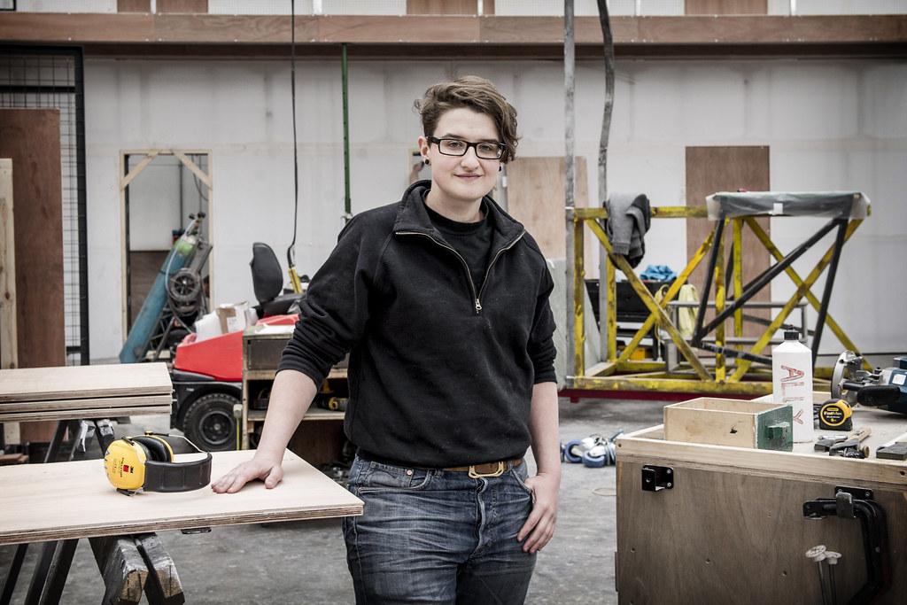 Ally Friedman, Scenic Carpentry Apprentice ? Sim Cannetty-Clarke/ROH 2014
