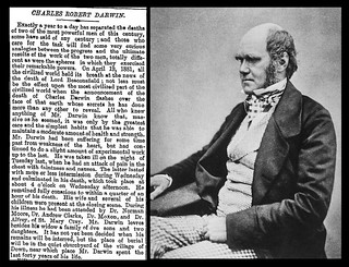 19th April 1882 - Death of Charles Robert Darwin | by Bradford Timeline