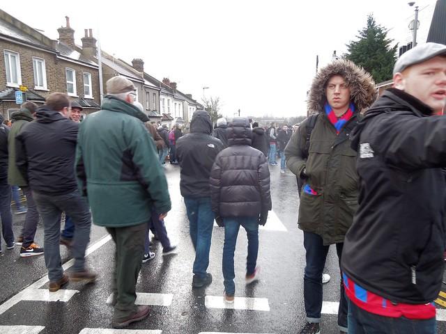 Palace v Everton, Holmesdale Road