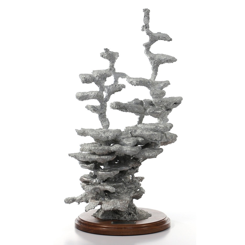Cast #071 - Aluminum Field Ant Colony | Aluminum cast of a f