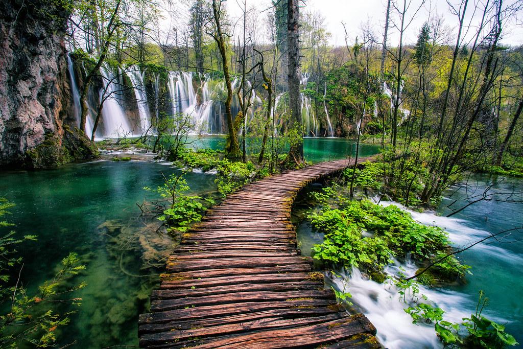 Plitvice Lakes Croatia Waterfall Walkway by Michael Matti | Flickr