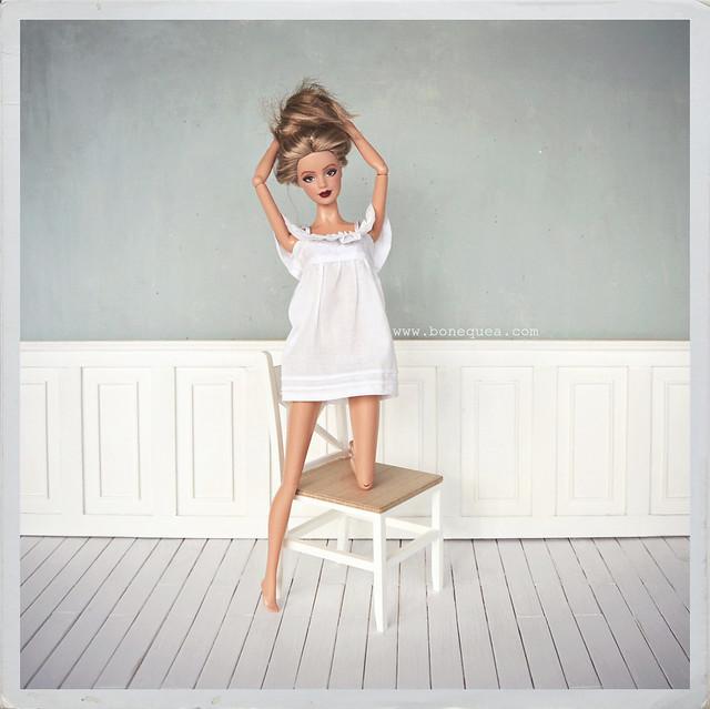 Chica nueva en casa: Ooak Basic Jeans Barbie
