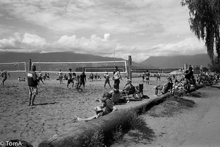 H275 #8 The perpetual beach volley ball game   by T&T and Mr B