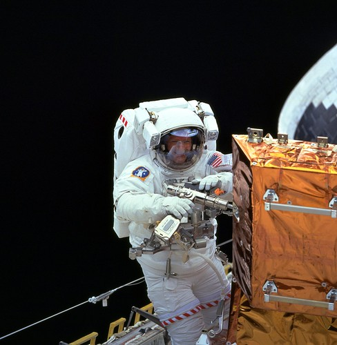 Astronaut Claude Nicollier | by NASA Hubble