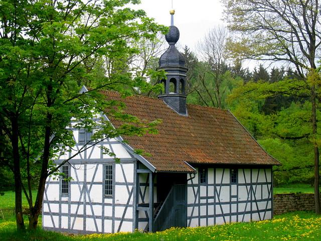 Kloster Veßra, small church