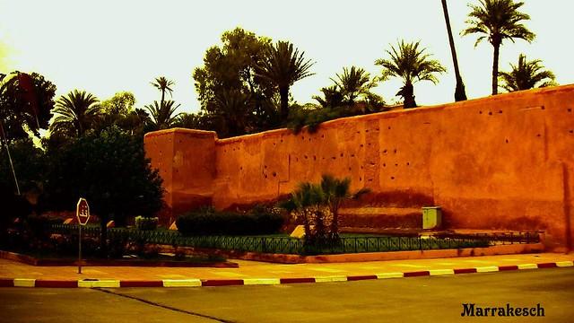 okko , Marrakesch , Stadtmauer , 10-2/2694