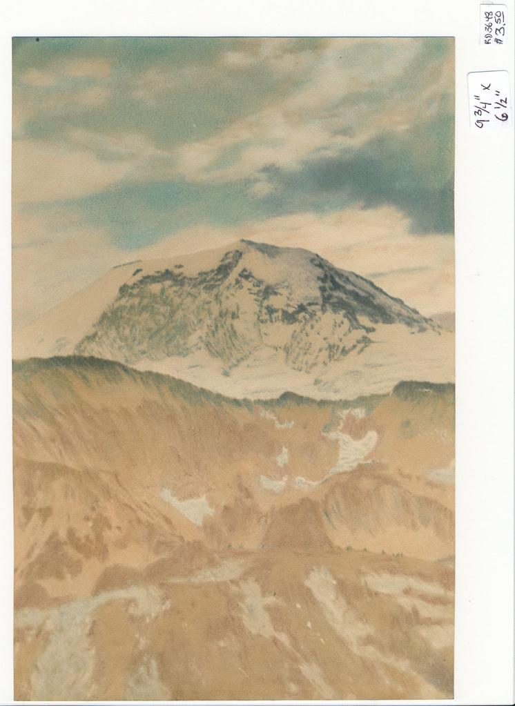 RD3648 Vintage Print of Mountain