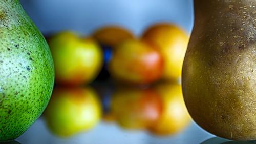 food orange color reflection fruit tomato nikon bokeh plum pear d200 mirrorimage hdr adoption odc niksoftware hbmike2000