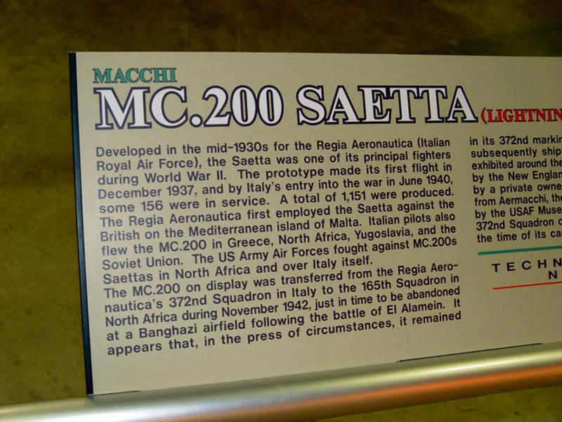 Macchi C.200 Saetta (5)