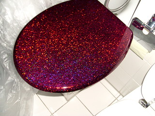 Pleasing Glitter Toilet Seat Stil Wet Paint Purple Glitter Toilet S Caraccident5 Cool Chair Designs And Ideas Caraccident5Info