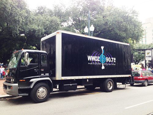 Another WWOZ truck!